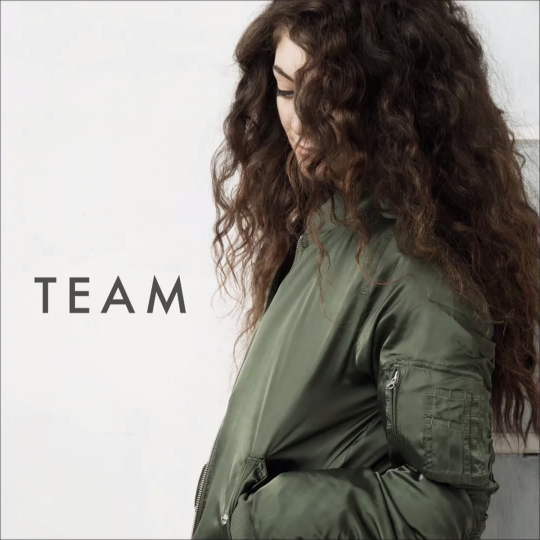 Coverafbeelding Team - Lorde