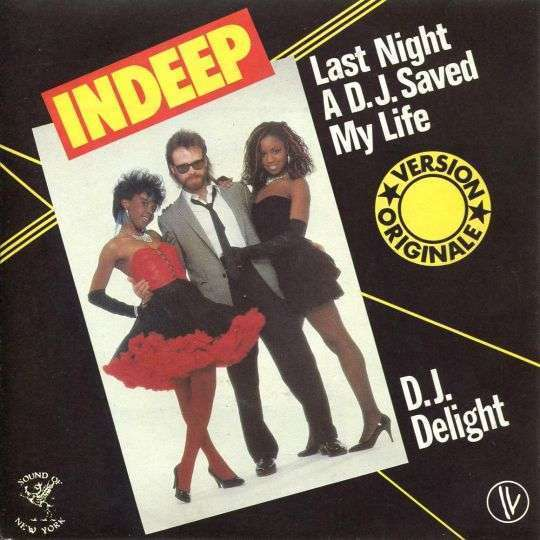 Coverafbeelding Indeep - Last Night A D.J. Saved My Life