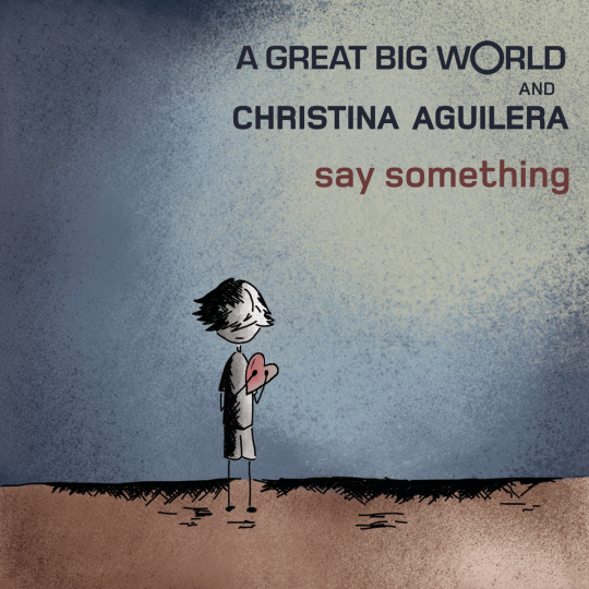 Coverafbeelding Say Something - A Great Big World And Christina Aguilera