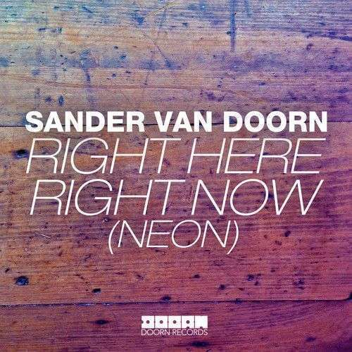 Coverafbeelding Right Here Right Now (Neon) - Sander Van Doorn