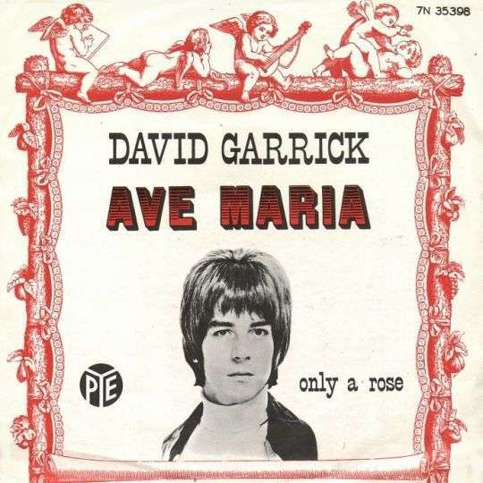 Coverafbeelding Ave Maria - David Garrick