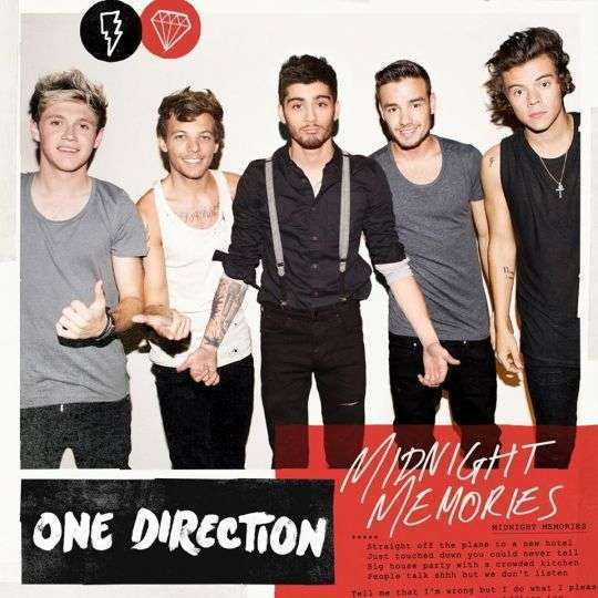 Coverafbeelding Midnight Memories - One Direction