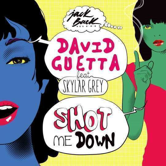 Coverafbeelding David Guetta feat Skylar Grey - Shot me down