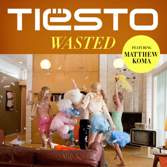 Coverafbeelding Wasted - Tiësto Featuring Matthew Koma