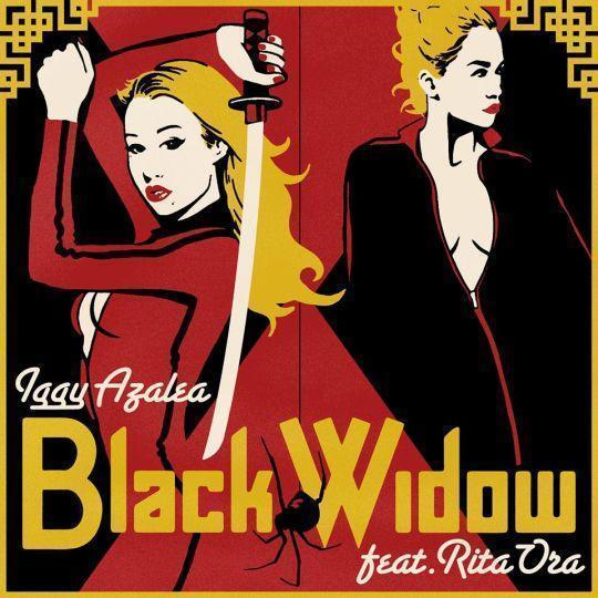 Coverafbeelding Iggy Azalea feat. Rita Ora - Black widow