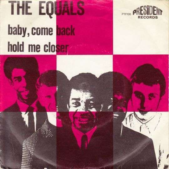 Coverafbeelding Baby, Come Back - The Equals