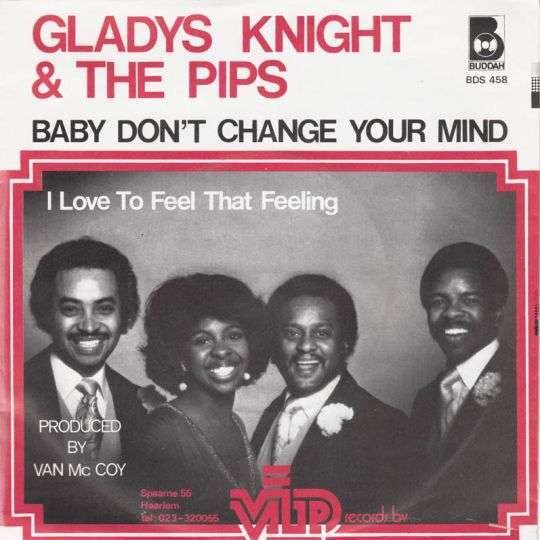 Coverafbeelding Baby Don't Change Your Mind - Gladys Knight & The Pips