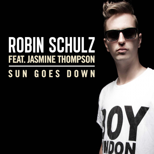 Coverafbeelding Sun Goes Down - Robin Schulz Feat. Jasmine Thompson