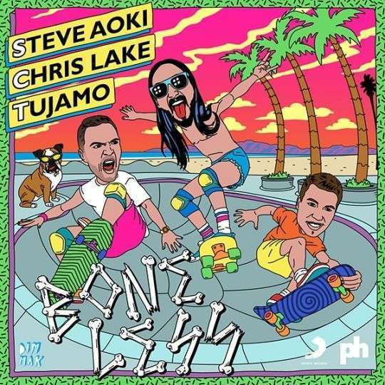 Coverafbeelding Boneless - Steve Aoki & Chris Lake & Tujamo