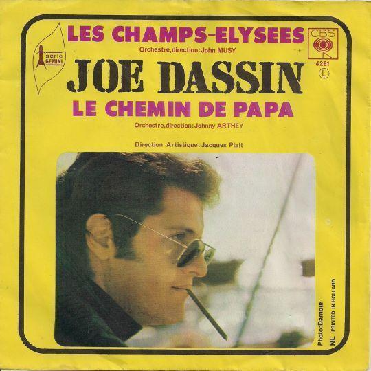 Coverafbeelding Les Champs-elysees - Joe Dassin