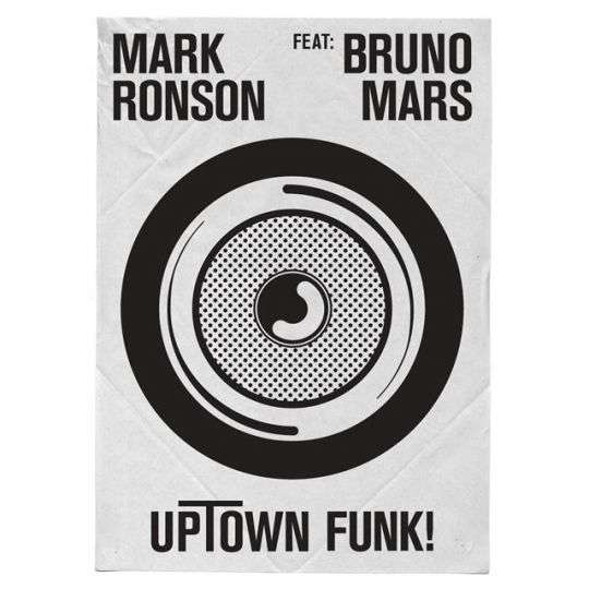 Coverafbeelding Uptown Funk! - Mark Ronson Feat: Bruno Mars