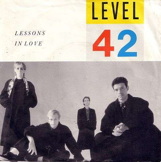 Coverafbeelding Level 42 - Lessons In Love