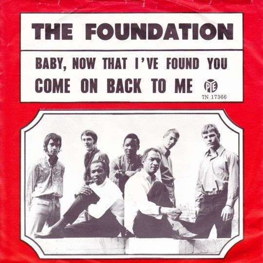 The Foundation Baby Now That Ive Found You Top 40