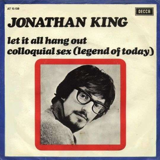 Coverafbeelding Let It All Hang Out - Jonathan King