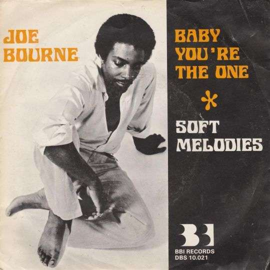Coverafbeelding Baby You're The One - Joe Bourne