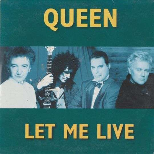 Coverafbeelding Let Me Live - Queen