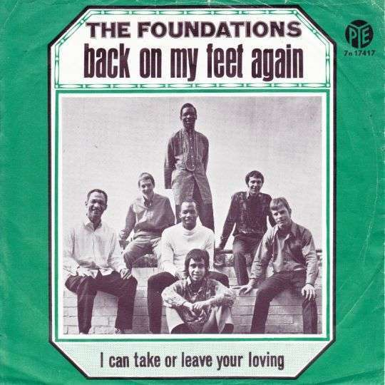 Coverafbeelding Back On My Feet Again - The Foundations