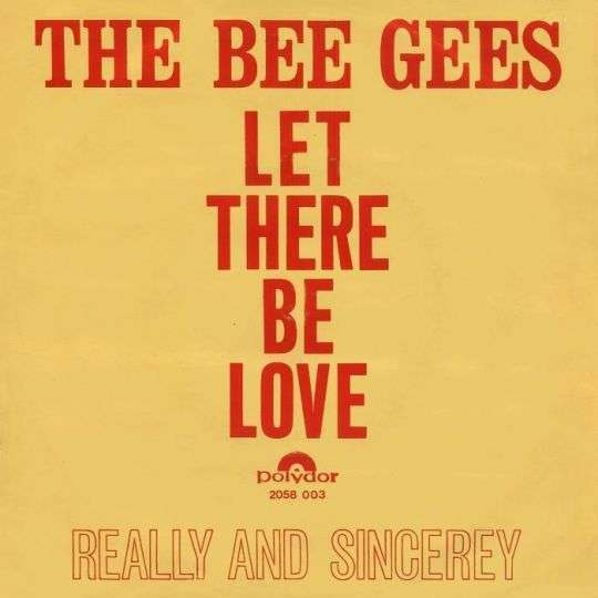 Coverafbeelding The Bee Gees - Let There Be Love