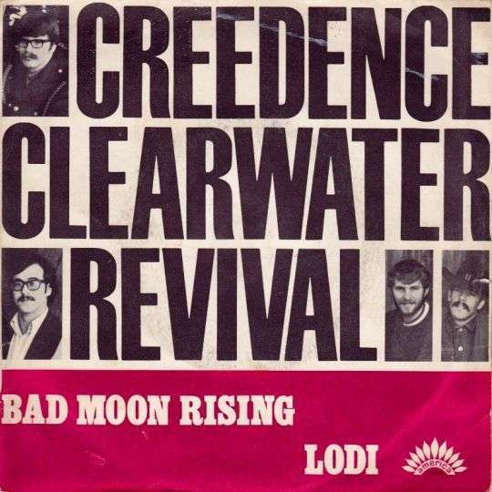 Coverafbeelding Bad Moon Rising - Creedence Clearwater Revival