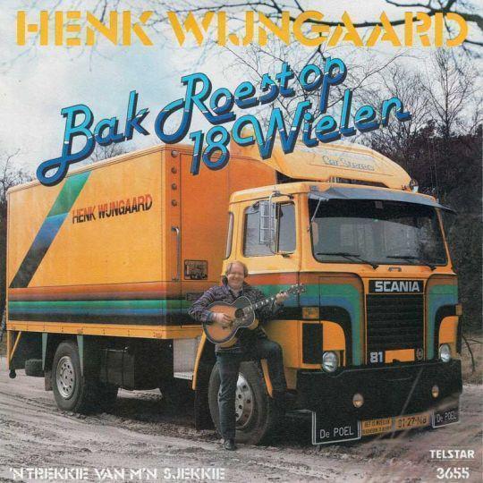 Coverafbeelding Bak Roest Op 18 Wielen - Henk Wijngaard