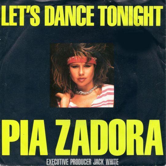 Coverafbeelding Let's Dance Tonight - Pia Zadora