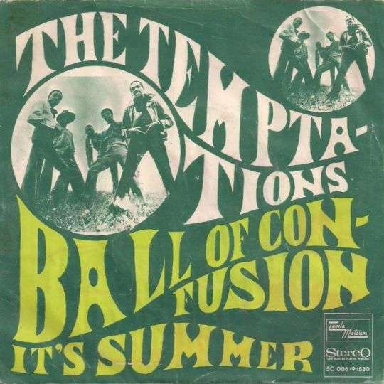 Coverafbeelding Ball Of Confusion - The Temptations