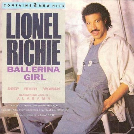 Coverafbeelding Ballerina Girl - Lionel Richie