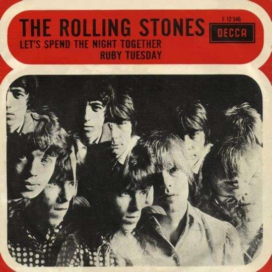 Coverafbeelding Let's Spend The Night Together/ Ruby Tuesday - The Rolling Stones