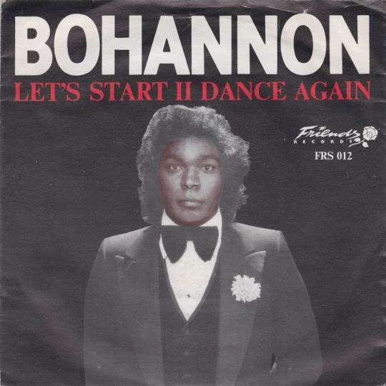 Coverafbeelding Let's Start Ii Dance Again - Bohannon