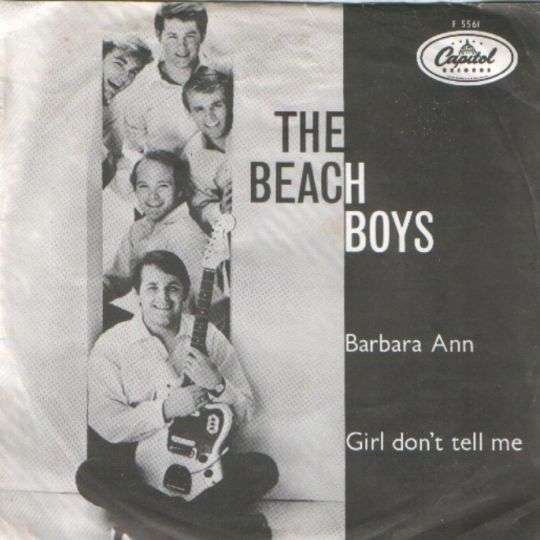 Coverafbeelding Barbara Ann - The Beach Boys