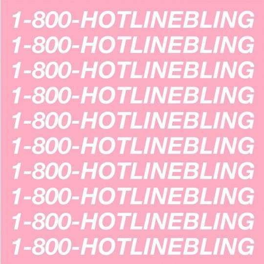 Coverafbeelding Drake - Hotline bling