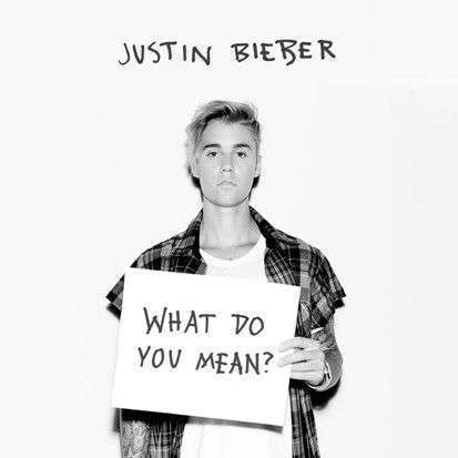 Coverafbeelding Justin Bieber - What do you mean?