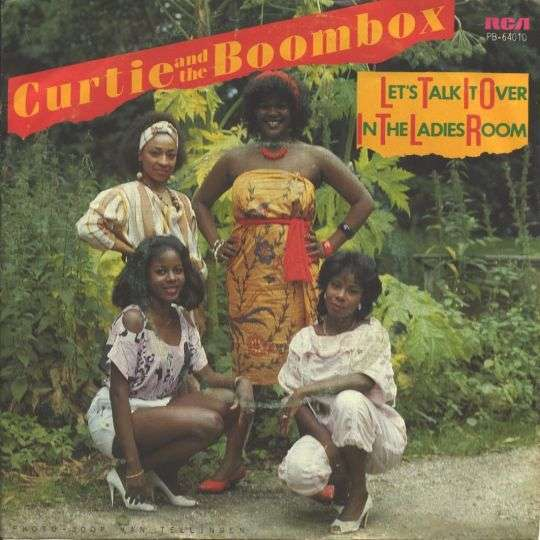 Coverafbeelding Curtie and The Boombox - Let's Talk It Over In The Ladies Room