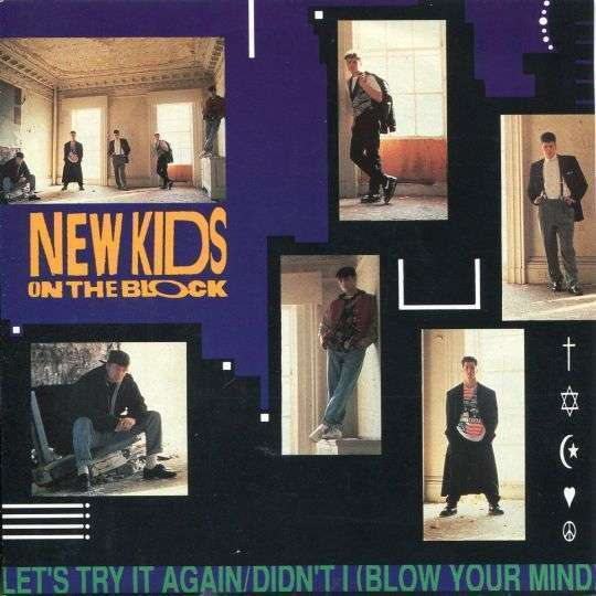 Coverafbeelding Let's Try It Again - New Kids On The Block