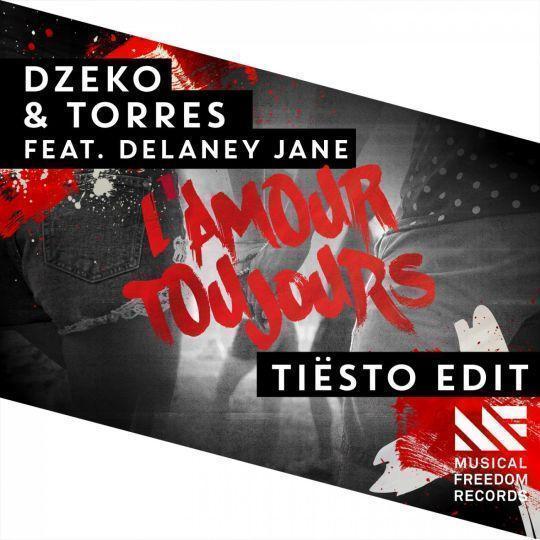 Coverafbeelding L'amour Toujours - Tiësto Edit - Dzeko & Torres Feat. Delaney Jane
