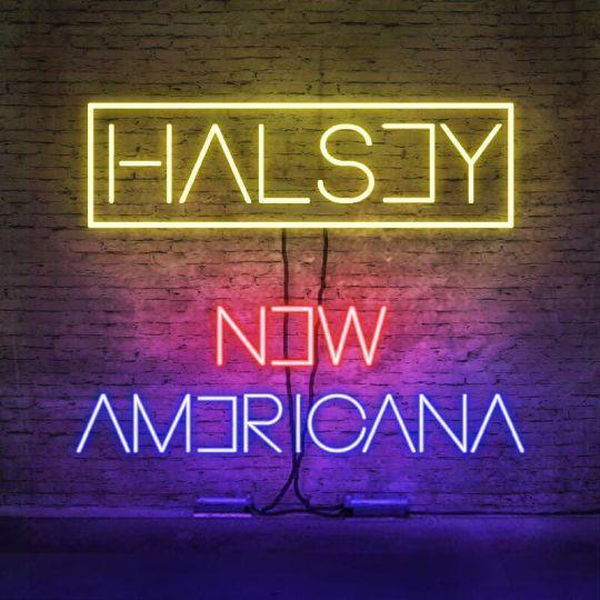 Coverafbeelding New Americana - Halsey