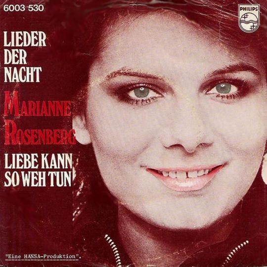 Coverafbeelding Lieder Der Nacht - Marianne Rosenberg