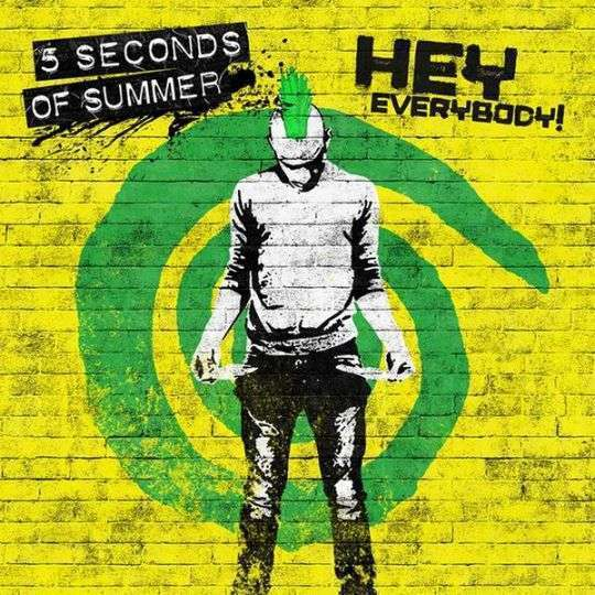 Coverafbeelding Hey Everybody! - 5 Seconds Of Summer