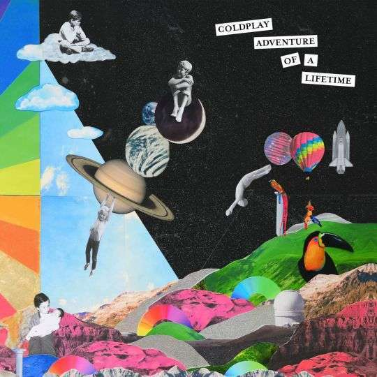 Coverafbeelding Coldplay - Adventure of a lifetime