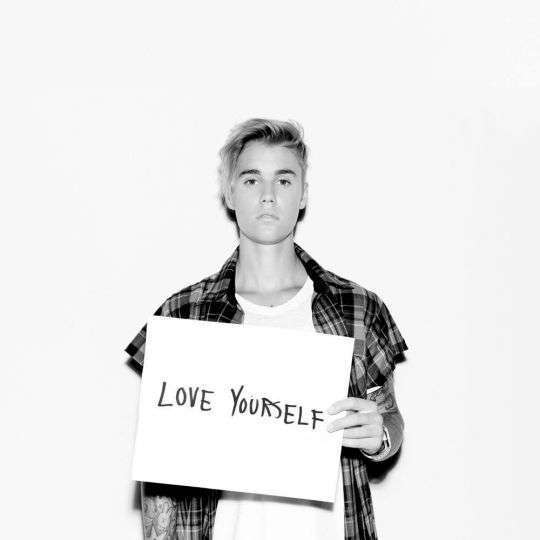 Coverafbeelding Justin Bieber - Love yourself