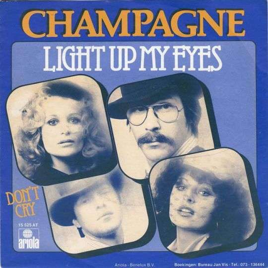 Coverafbeelding Light Up My Eyes - Champagne