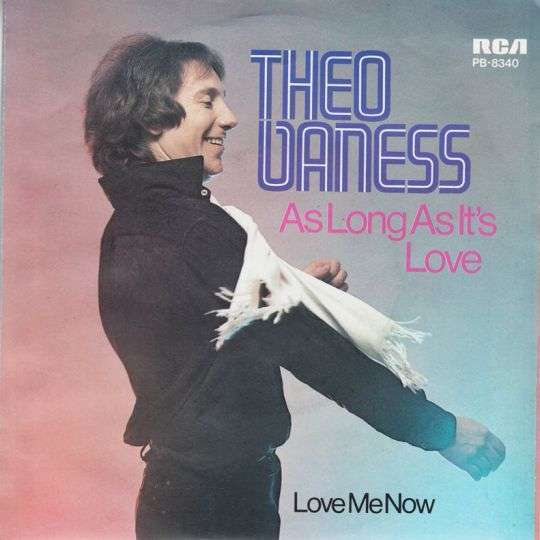 Coverafbeelding Theo Vaness - As Long As It's Love