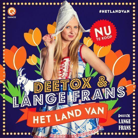 Coverafbeelding Het Land Van - Deetox & Lange Frans