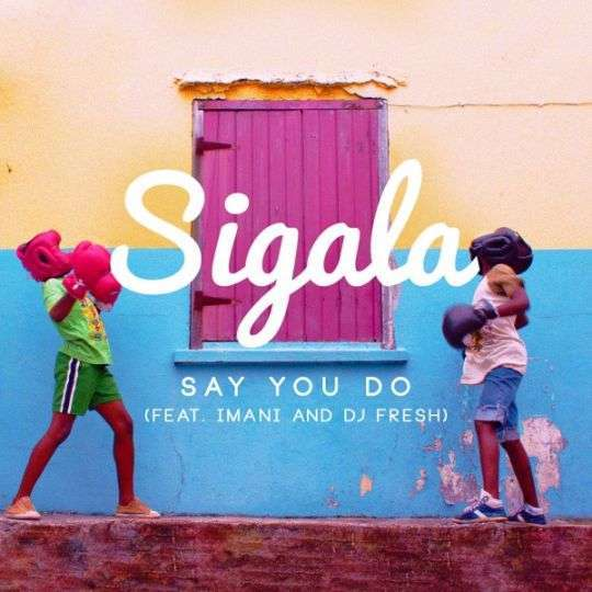 Coverafbeelding Say You Do - Sigala (Feat. Imani And Dj Fresh)