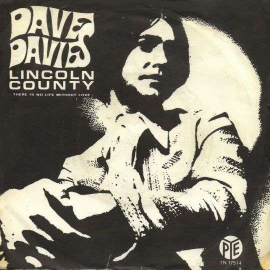 Coverafbeelding Dave Davies - Lincoln County