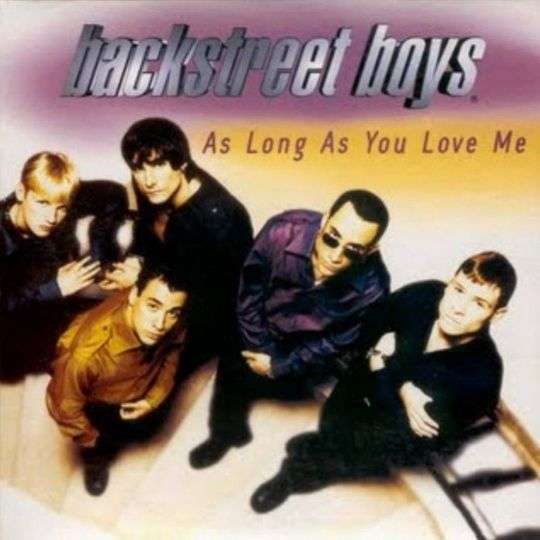 Coverafbeelding As Long As You Love Me - Backstreet Boys