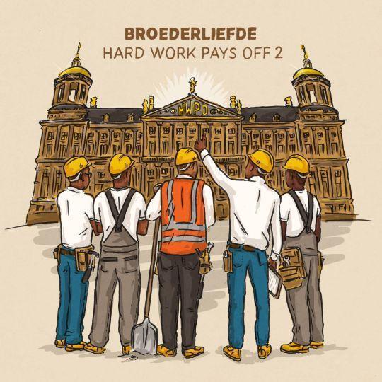 Coverafbeelding Ik Was Al Binnen - Broederliefde Feat. Frenna