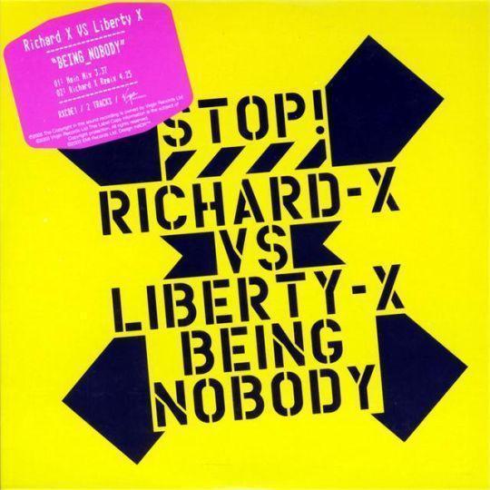 Coverafbeelding Being Nobody - Richard-X Vs Liberty-X