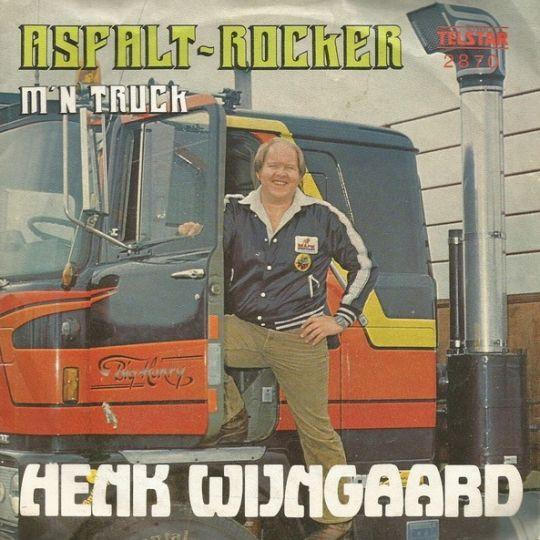 Coverafbeelding Asfalt-rocker - Henk Wijngaard