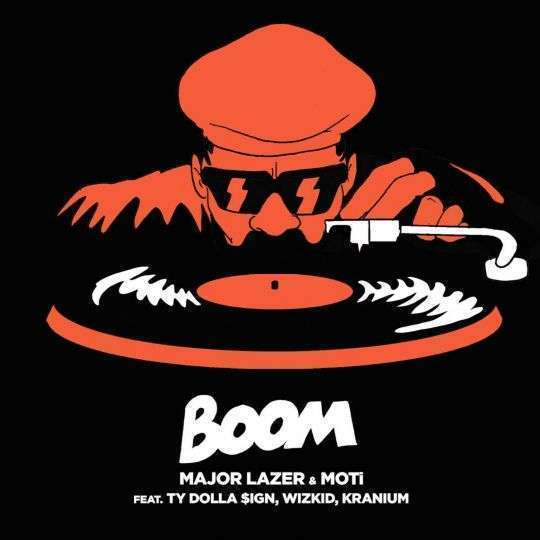 Coverafbeelding Major Lazer & MOTi feat. Ty Dolla $ign, Wizkid, Kranium - Boom
